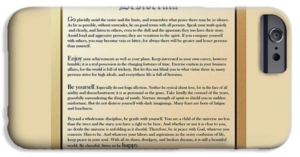 Encouraging Words iPhone 6 Cases | Fine Art America