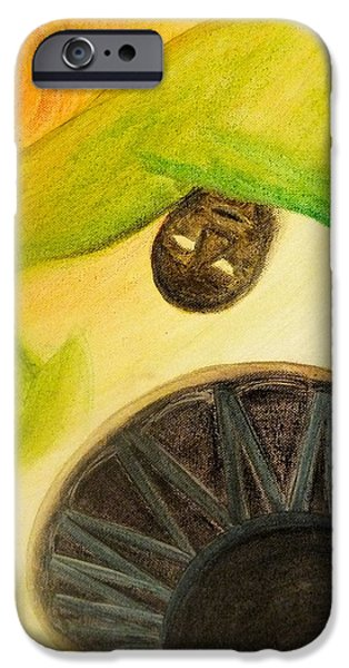IPhone 6 Case featuring the painting Djembe by Marc Philippe Joly
