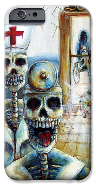 Abandonment iPhone Cases - El Doctor iPhone Case by Heather Calderon