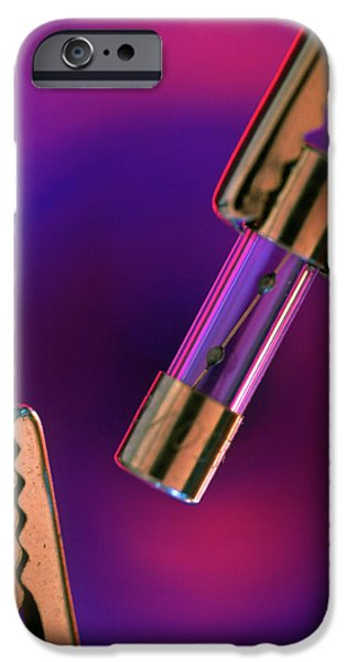 Safety Fuse iPhone 6 Case - Electrical Fuse by Chris Knapton/science Photo Library