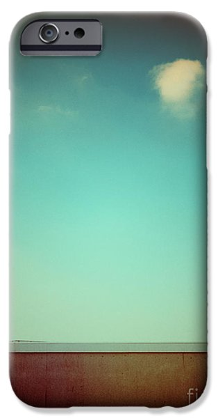 Emptiness With Wall And Cloud IPhone 6 Case by Silvia Ganora