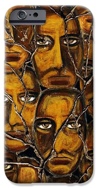 Bogdanoff iPhone 6 Case - Empyreal Souls No. 5 - Study No. 1 by Steve Bogdanoff