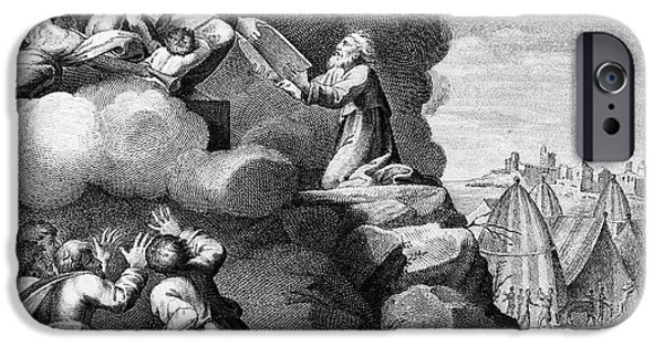 Engraving Of Moses Receiving The Ten IPhone 6 Case