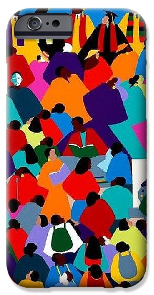 iPhone 6 Case - Enlightenment Asu by Synthia SAINT JAMES