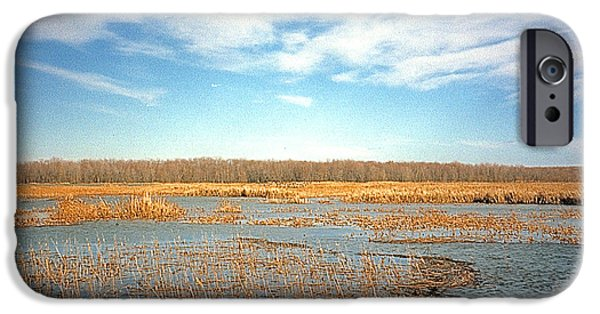IPhone 6 Case featuring the photograph Etang by Marc Philippe Joly