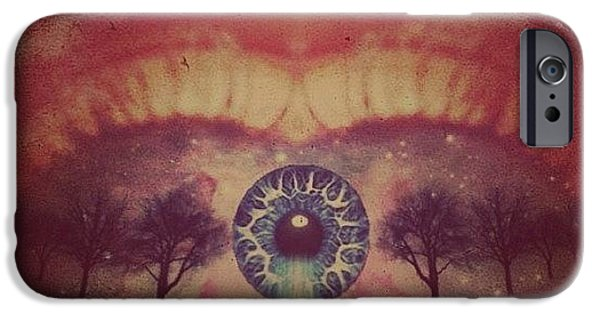 Edit iPhone 6 Case - eye #dropicomobile #filtermania by Tatyanna Spears