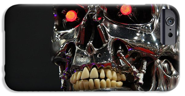 Face Of The Machine IPhone 6 Case by Nathan Rupert