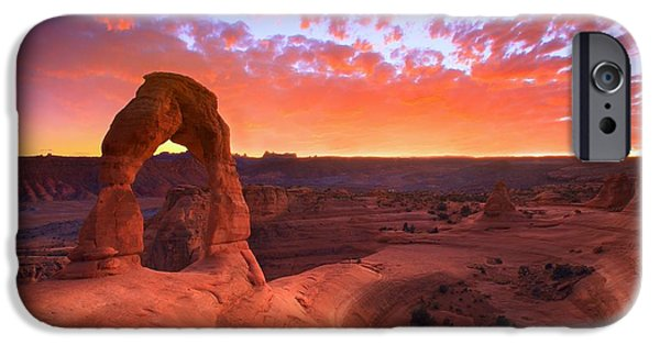 Landscapes iPhone 6 Case - Famous Sunset by Kadek Susanto