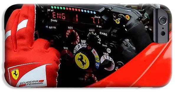Ferrari Formula 1 Cockpit IPhone 6 Case by Marvin Blaine