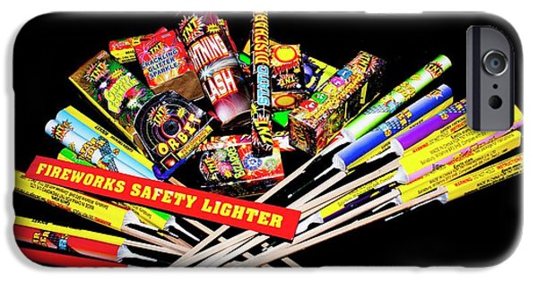 Safety Fuse iPhone 6 Case - Firework Selection by Mark Williamson/science Photo Library