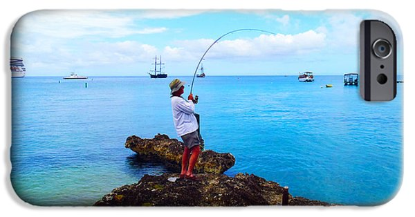 Jet Ski iPhone 6 Case - Fishing Paradise by Carey Chen
