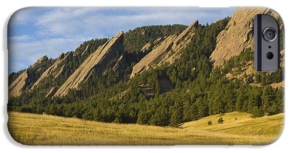 Flatiron Morning Light Boulder Colorado IPhone 6 Case