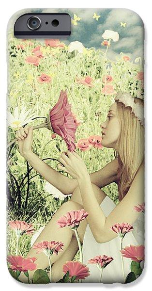 Flora IPhone 6 Case by Linda Lees