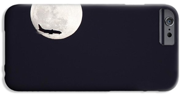 IPhone 6 Case featuring the photograph Fly Me To The Moon by Nathan Rupert