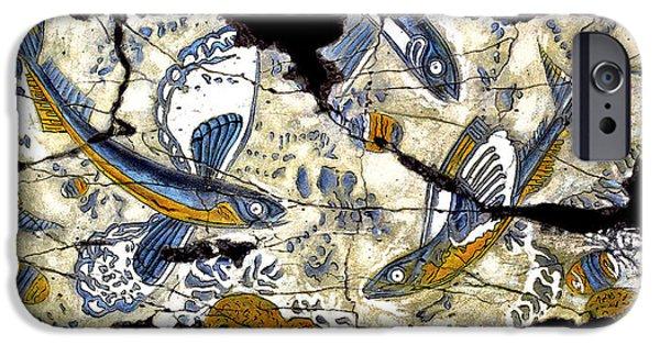 Bogdanoff iPhone 6 Case - Flying Fish No. 3 by Steve Bogdanoff