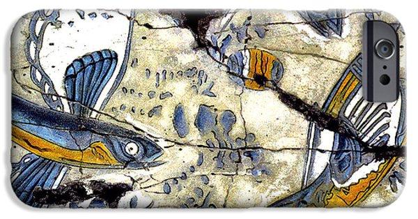 Bogdanoff iPhone 6 Case - Flying Fish No. 3 - Study No. 2 by Steve Bogdanoff
