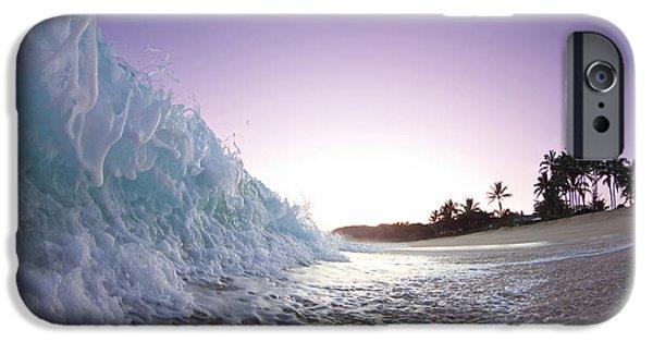 Ocean iPhone 6 Case - Foam Wall by Sean Davey