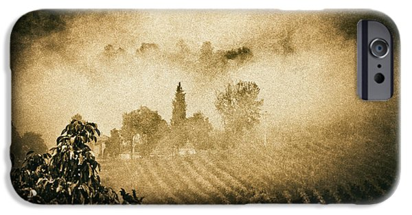 IPhone 6 Case featuring the photograph Foggy Tuscany by Silvia Ganora