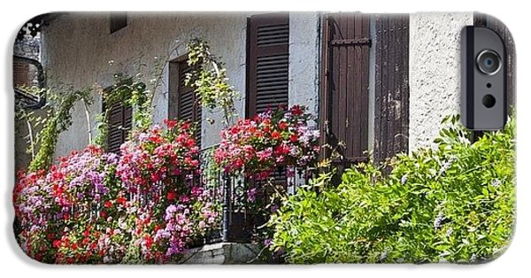 Summer iPhone 6 Case - #france #summer #flowers #balcony by Georgia Fowler