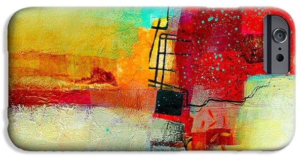 Abstract iPhone 6 Case - Fresh Paint #2 by Jane Davies