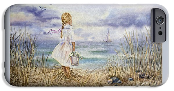 Girl At The Ocean IPhone 6 Case