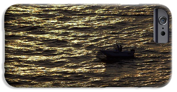 IPhone 6 Case featuring the photograph Golden Ocean by Miroslava Jurcik