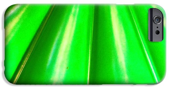 Green iPhone 6 Case - Green Abstract by Christy Beckwith