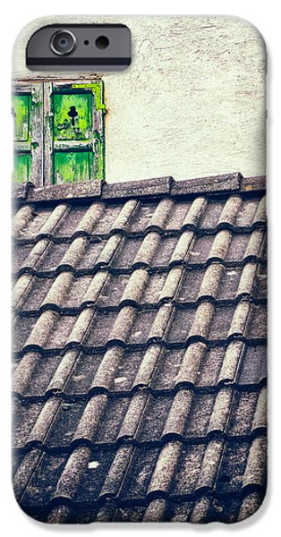Green Shutters IPhone 6 Case by Silvia Ganora