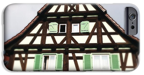 House iPhone 6 Case - Half-timbered House 01 by Matthias Hauser