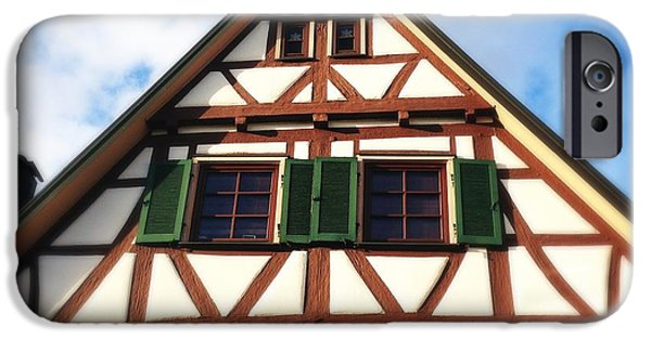 House iPhone 6 Case - Half-timbered House 02 by Matthias Hauser