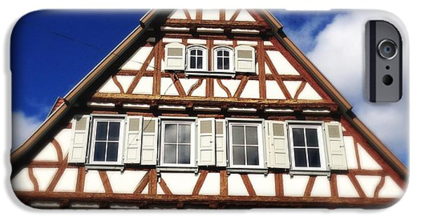 House iPhone 6 Case - Half-timbered House 03 by Matthias Hauser