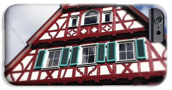 House iPhone 6 Case - Half-timbered House 04 by Matthias Hauser