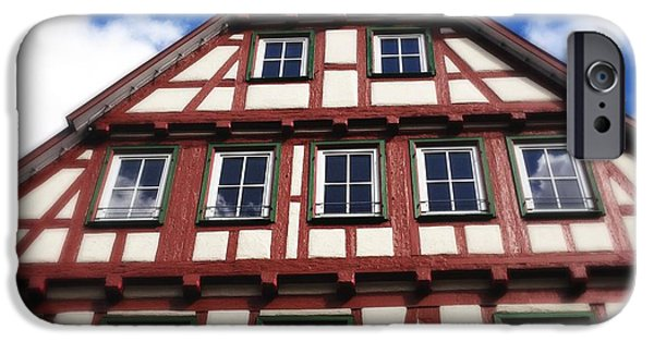 House iPhone 6 Case - Half-timbered House 05 by Matthias Hauser
