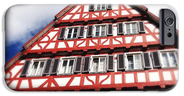 House iPhone 6 Case - Half-timbered House 06 by Matthias Hauser