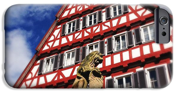 House iPhone 6 Case - Half-timbered House 07 by Matthias Hauser