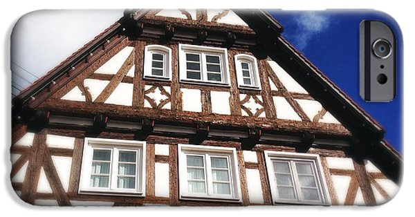 House iPhone 6 Case - Half-timbered House 08 by Matthias Hauser