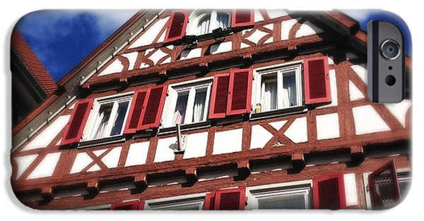 House iPhone 6 Case - Half-timbered House 09 by Matthias Hauser