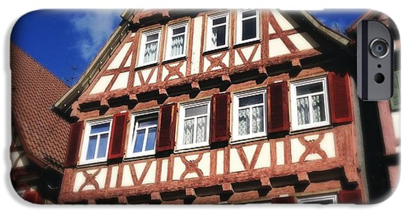 House iPhone 6 Case - Half-timbered House 10 by Matthias Hauser
