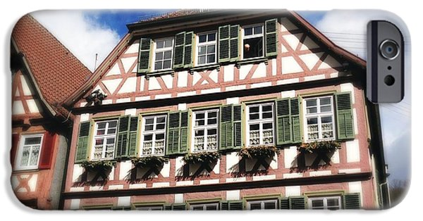 House iPhone 6 Case - Half-timbered House 11 by Matthias Hauser