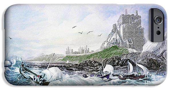 Buddhism iPhone 6 Case - Holy Island - Lindisfarne by Lianne Schneider