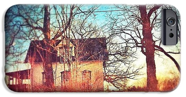 House iPhone 6 Case - #house #home #old #farm #abandoned by Jill Battaglia
