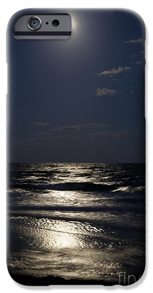 Michelle iPhone Cases - Hunters Moon IV iPhone Case by Michelle Wiarda