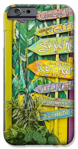 Smoothie iPhone 6 Case - Ice Cream by Sheldon Kralstein