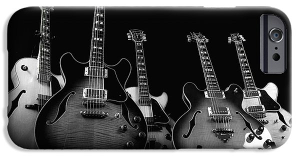 Guitar Strings iPhone Cases - Instrumental Change iPhone Case by Donna Blackhall