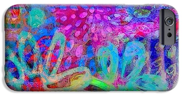 #ipadart #colorful #digitalart #rainbow IPhone 6 Case