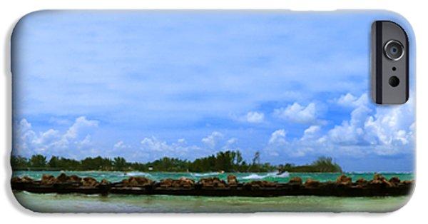 Jet Ski iPhone 6 Case - Jet Skis In Longboat Pass by Rolf Bertram