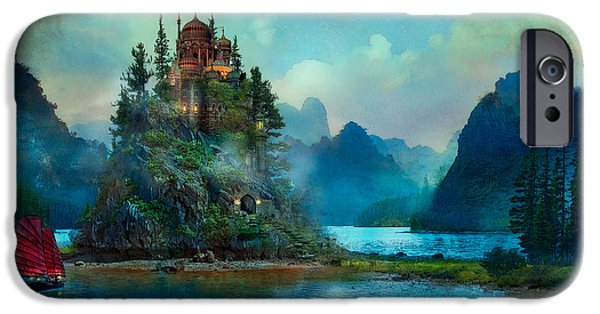 Lake iPhone 6 Case - Journeys End by MGL Meiklejohn Graphics Licensing