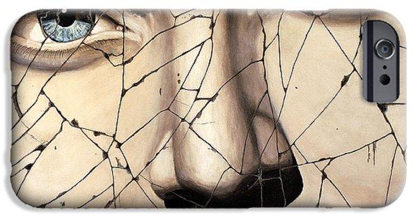 Bogdanoff iPhone 6 Case - Kallisto - Study No. 1 by Steve Bogdanoff