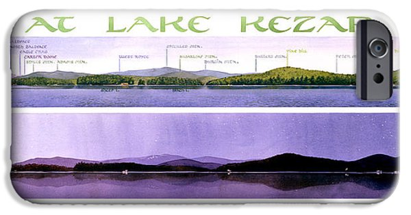 Lake iPhone 6 Case - Kezar Lake View by Mary Helmreich