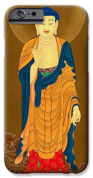 Bodhisatva iPhone Cases - Kuan Yin Bodhisattva iPhone Case by Lanjee Chee
